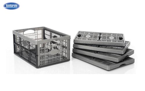 32L Folding Crate
