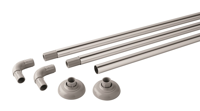 JGB Polished Aluminium Modular Rail