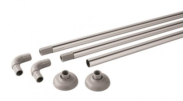 JGB Polished Aluminium Modular Rail