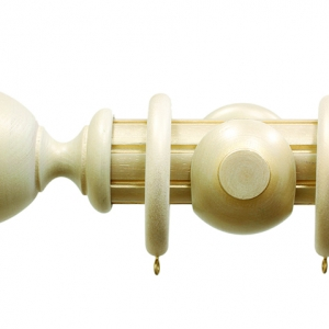Palazzo Reeded Antique Cream Urn Finial