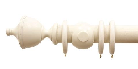 Palazzo Smooth Cream Urn Finial